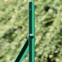 pulverbeschichtet grün