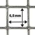 Maschung 6,5 x 6,5 mm