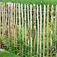 Staketenzaunrollen aus Haselnussholz 3-4cm