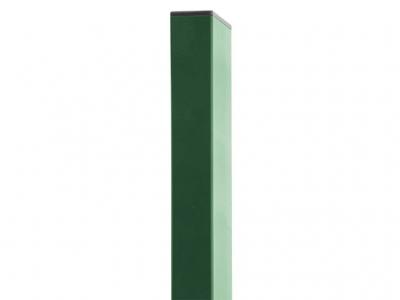Rechteckpfosten grün 60 x 40 x 1,5mm