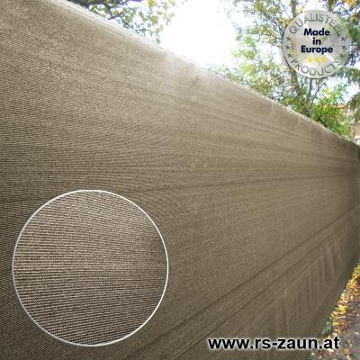 Sichtschutznetz 230 gr/m² sandgrau 25 m Länge