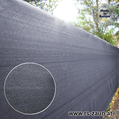Sichtschutznetz 370 gr/m² anthrazit 25 m Länge