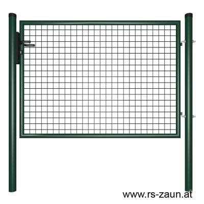 Gartentor grün 1500mm Breite