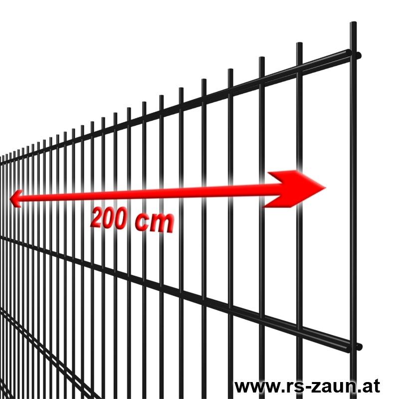 Simpel Schwarz Mattenzaun Gunstige Zaunmatte Zaunsystem Zaun
