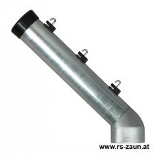 Stacheldrahtaufsetzer fvz. mit Aluminiumwinkel 60/60/300 mm