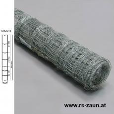 Knotengeflecht verzinkt 100x8x15 50m