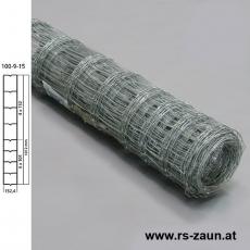 Knotengeflecht verzinkt 100x9x15 50m