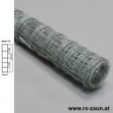Knotengeflecht verzinkt 60x6x15 50m