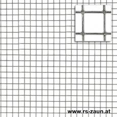 Punktgeschw. Gitter verzinkt 13x13x1,0mm 1,0x25m