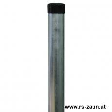 Zaunpfahl feuerverzinkt Ø 48mm ohne Drahthalter