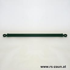 Spannbrücken Ø 34mm verzinkt + grün mit Schellen 34mm