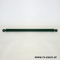 Spannbrücken Ø 42mm verzinkt + grün mit Schellen 42mm