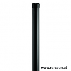 Universalpfosten Ø 34mm verzinkt + schwarz ohne Drahthalter