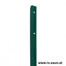 T-Zaunpfosten grün 35mm Breite