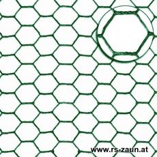 Sechseckgeflecht grün 25x1,0mm 25m