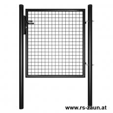 Gartentor schwarz 1000mm Breite