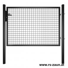 Gartentor schwarz 1500mm Breite