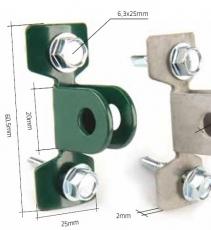 Standfuß verzinkt für Torpfosten Ø 60mm