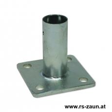 Standfuß für Pfosten Ø 34 und 42 mm