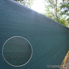 Sichtschutznetz 370 gr/m² grün 25 m Länge