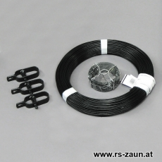 Zaun Kit schwarz