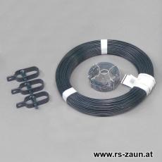 Zaun Kit 3,1 anthrazitgrau für Zaunlängen bis 25 m