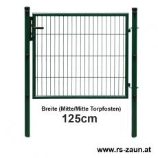 Gartentor EASY-B-EASY fvz.+ pulverbeschichtet grün 1250mm Breite