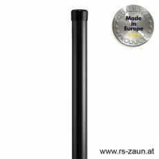 Rundpfosten schwarz Ø 34mm