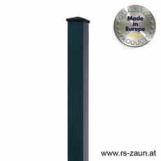 Rechteckpfosten anthrazit 60 x 40 x 1,5mm
