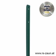 T-Profilpfosten thermoverzinkt + grün 35mm