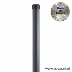 Rundpfosten anthrazit Ø 42mm
