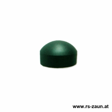Abdeckkappe grün für Zaunmattenhalter