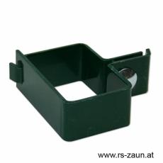 Anfangs-/Endschelle grün 60 x 40mm