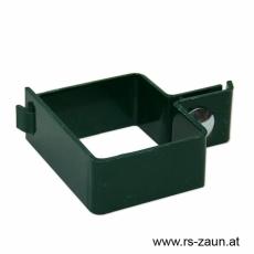 Torpfostenschelle grün 80 x 80 mm