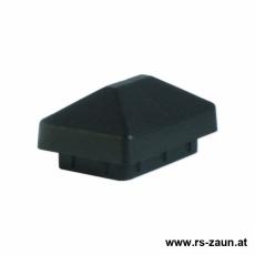 Pfostenkappe für Rechteckpfosten 60 x 40mm schwarz