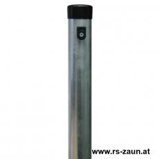 Zaunpfosten verzinkt Ø 48mm mit Drahthalter