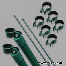 Tor-Ergänzungsset grün für Tore mit Ø 60mm Pfosten