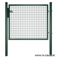 Gartentor grün 1250mm Breite