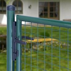 Garten-Doppeltor grün 3000mm Breite