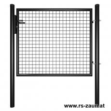 Gartentor schwarz 1250mm Breite