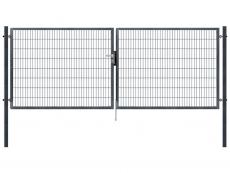 Gartentor anthrazit 4.000mm Breite