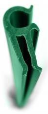 Clip für Sichtschutzstreifen grün 10 Stück