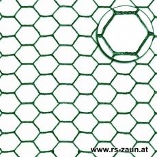 Sechseckgeflecht grün 25 x 1,0mm/25m