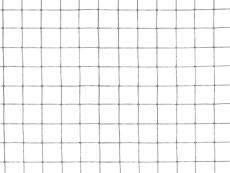 Punktgeschw. Gitter verzinkt  8,0 x 8,0 x 0,8mm/1,0x25m