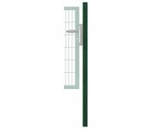Anschlagpfosten 120x120mm grün oder anthrazitgrau