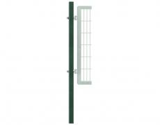 Hangpfosten 120x120mm grün oder anthrazitgrau