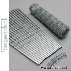 W-Forstprofil Wildschutzzaunset 100-8-15 1,00X50m