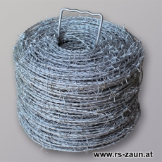 Stacheldraht EURO B dickverzinkt 2,7X2X10 X 200m